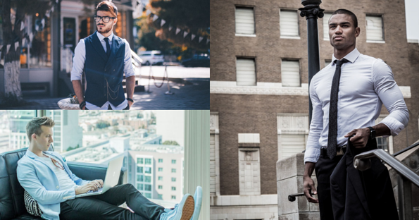 Mens Fashion Blog Post Featured Image- Well dressed men