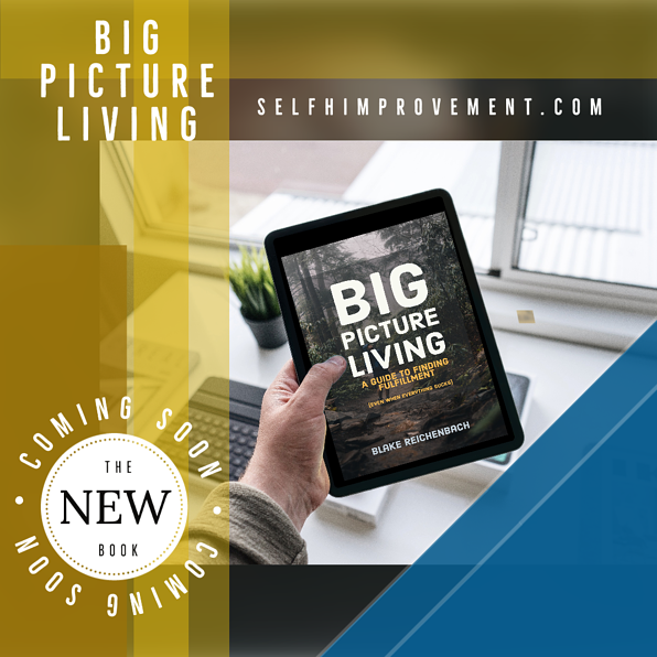 the book big picture living by blake reichenbach