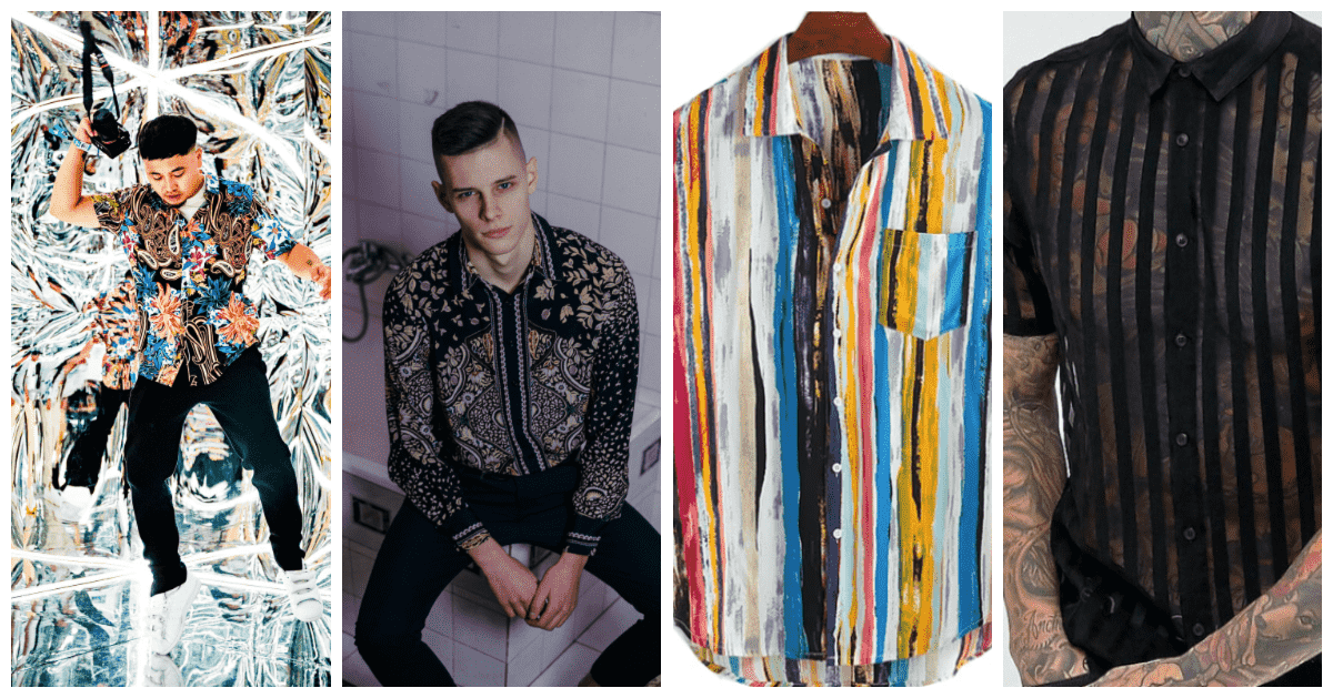 Shirts that play with color and pattern